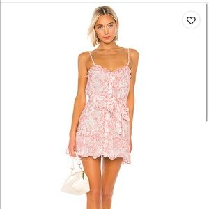 Lovers and friends NWT Spencer mini dress